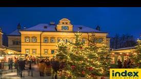 Salzburg - Jarmark Bożonarodzeniowy