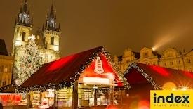 Praga - Jarmark Bożonarodzeniowy