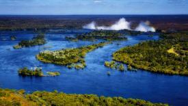 RPA i Wodospady Wiktorii - dym, który grzmi