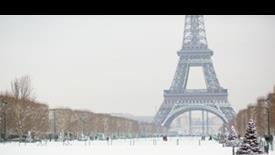 Zimowa Magia Paryża