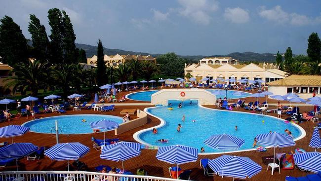 Grecja Korfu Agios Georgios Aquis Sandy Beach Resort