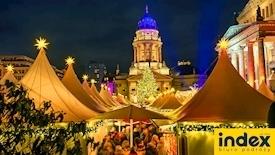 Berlin - Jarmark Bożonarodzeniowy