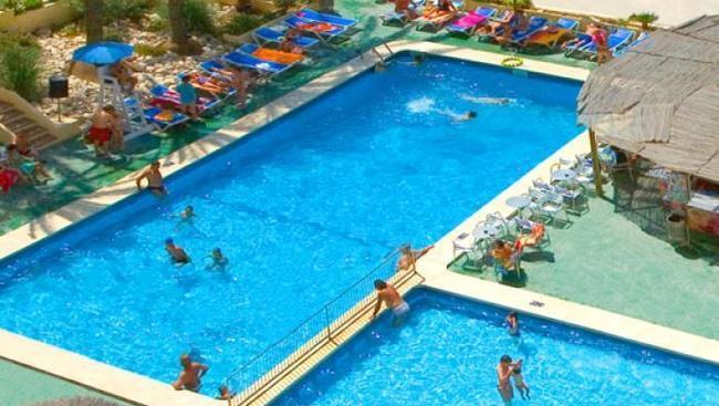 Hotel poseidon playa hiszpania costa blanca oferty na for Hotel poseidon playa