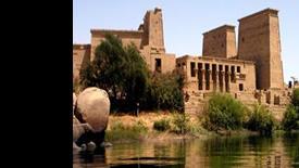 Egipt - wzdłuż Nilu