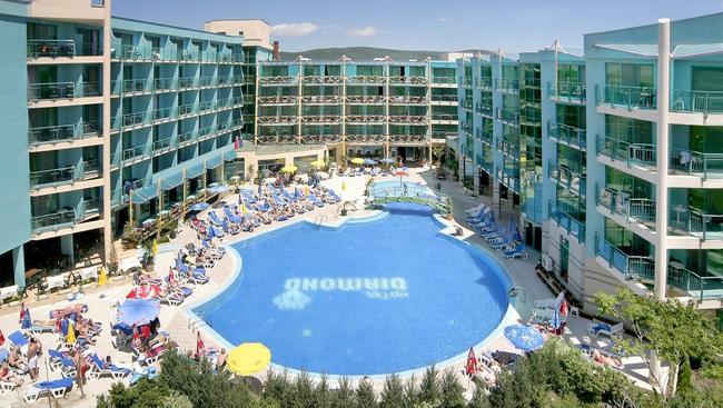 Hotel Diamond Sunny Beach Bułgaria Słoneczny Brzeg Oferty Na