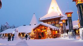 Rovaniemi - z wizytą u Św. Mikołaja