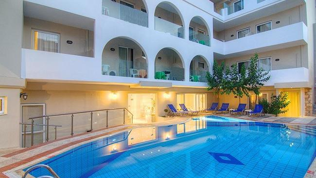 Hotel smartline dimitrios beach grecja kreta oferty for Design hotel kreta