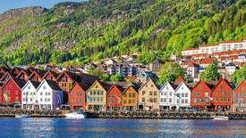 Bergen - Brama Norwegii