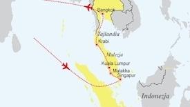Tercet egzotyczny - Singapur - Malezja - Tajlandia