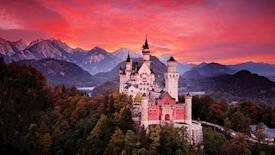Bawaria i skarby Alp