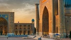 Kazachstan Kirgistan Uzbekistan - połączone jedwabiem