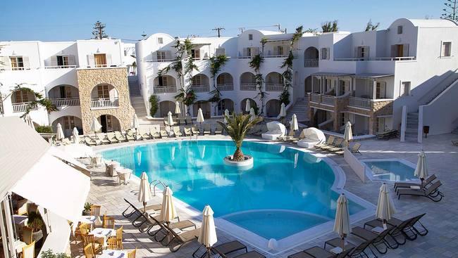 Grecja Santorini Kamari Aegean Plaza