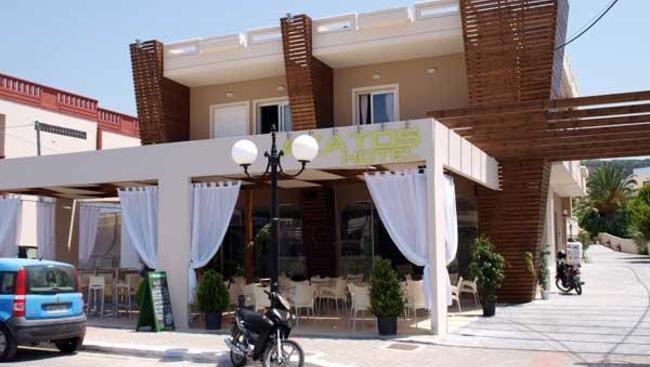 Grecja Kreta Agia Marina Akatos Aparthotel