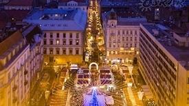 Budapeszt - Jarmark Bożonarodzeniowy Express