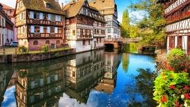 Alzacja - Strasburg, Colmar