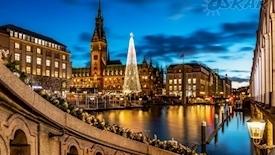 Hamburg - Jarmark Świąteczny