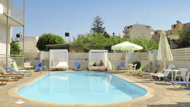Hotel sun boutique grecja kreta oferty na wakacje i for Design boutique hotel kreta