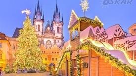 Świąteczny Weekend w Pradze