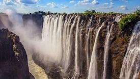 RPA - Zimbabwe (Wodospady Wiktorii) - Botswana