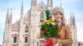 Mediolan - Jarmark Bożonarodzeniowy