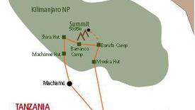 Wyprawa na Kilimandżaro trasa Machame