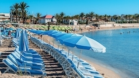Weekend na plaży - Juan Les Pins