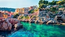 Costa Smeralda /  Od hiszpańskiego Hola do włoskiego Arrivederci! - Barcelona