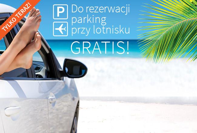 Parking przy lotnisku gratis