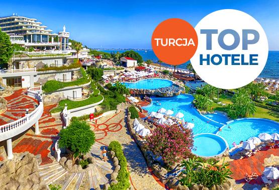 Top Hotele Turcja