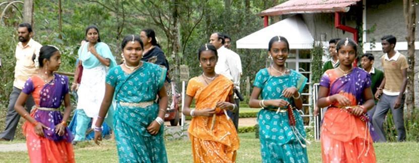 Keralskie dziewczynki