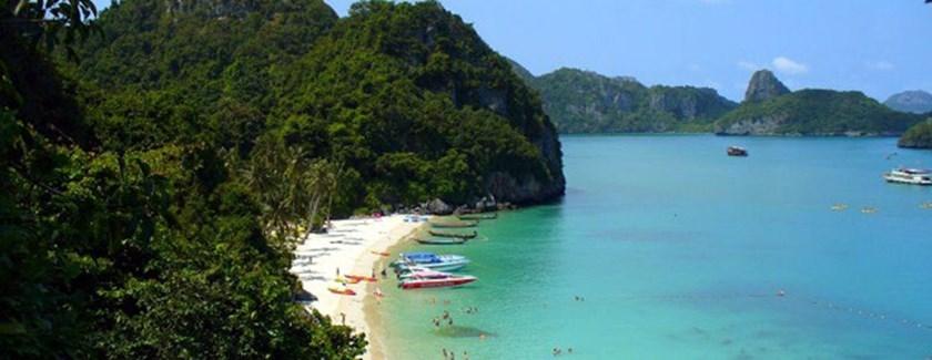 Narodowy Park Morski Ao Nang - jedna z wysp
