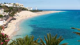 Fuerteventura – plaża Wysp Kanaryjskich