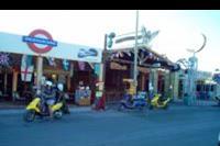 Faliraki - Glówna ulica w Faliraki