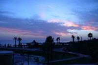 Hotel Incekum Beach Resort - widok na ogród  i morze