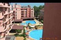 Hotel Izola Paradise - Widok z okna na korytarzu