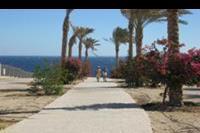 Hotel Rehana Sharm Resort - droga do plazy