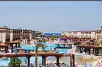 Hotel Sentido Mamlouk Palace Resort & Spa - widok z tarasu budynku glównego