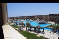 Hotel Sentido Mamlouk Palace Resort & Spa - widok z pokoju na baseny