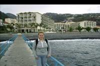 Hotel Vila Gale Santa Cruz - widok na hotel od strony oceanu