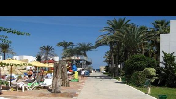 Wyjście na plaze