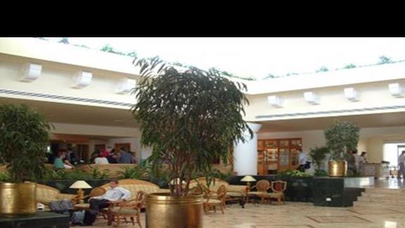 wnetrze hallu recepcyjnego