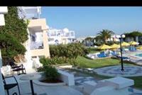 Hotel Serita Beach - widok z balkonu w pokoju