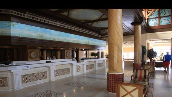 recepcja hotelu Aldemar Royal Mare