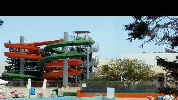 aquapark w hotelu obok