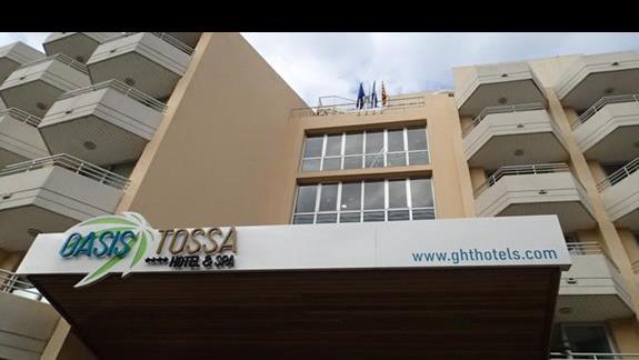 GHT Oasis Tossa - wejście