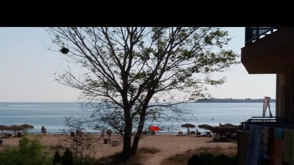 widok z okna na plaże:-)