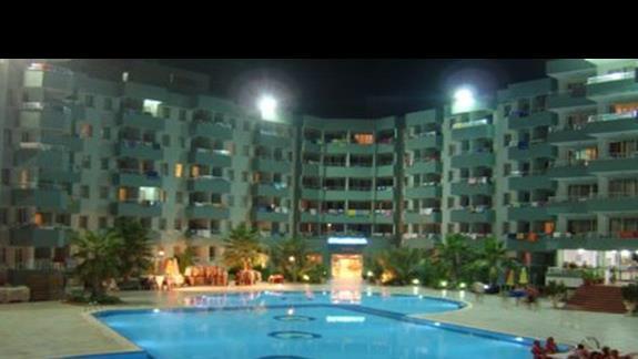 Widok na hotel.