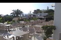 Hotel Smy Princess of Kos - Taras przy którym odbywają się wieczory tematyczne,miejsce na popołudniowa kawę i ciacho