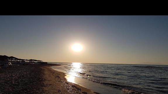 Zachód słońca na Kos