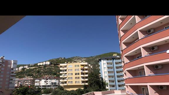 Widok z balkonu.